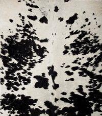 kunst-minimalisme-wandobject met koeienhuid-Henk Peeters-2.jp