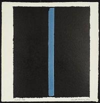 kunst-minimalisme-schilderij zwart met blauw-Barnett Newman-6.jpg