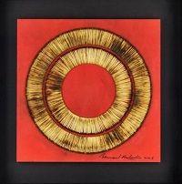 kunst-minimalisme-schilderij rood en goud-bernard aubertin-2.jpg
