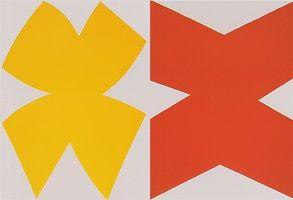 kunst-minimalisme-schilderij rood geel-Ellsworth Kelly-3.jpg