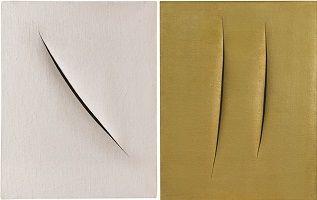 kunst-minimalisme-wit en bruin schilderij-lucio fontana-8.jpg