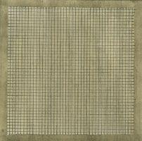 kunst-minimalisme-bruin beige raster schilderij van agnes martin-5.jpg