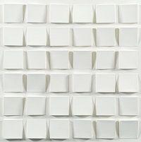 kunst-minimalisme-wit karton wandobject van jaap egmond-2.jpg